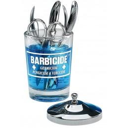Pojemnik szklany do dezynfekcji 750 ml Barbicide + koncentrat 1900 ml