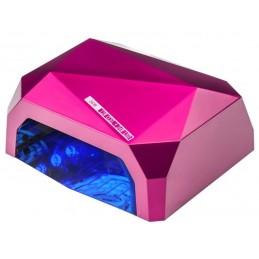 Lampa tunelowa Diamond LED/UW, 4 kolory do wyboru, timer, sensor, 36W