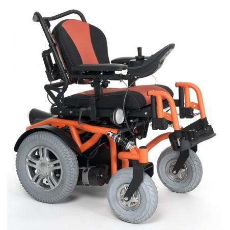 Wózek z napędem elektrycznym pokojowo terenowy dla dzieci