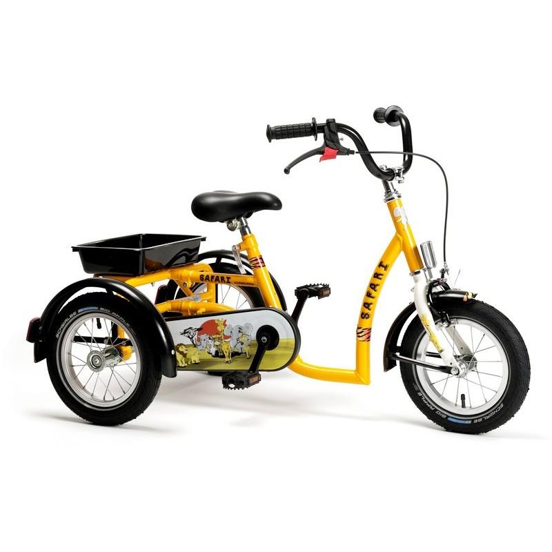Rower rehabilitacyjny trójkołowy dla chłopców w wieku 3-7 lat SAFARI
