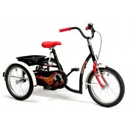 Rower rehabilitacyjny trójkołowy dla chłopców w wieku 8-13 lat SPORTY