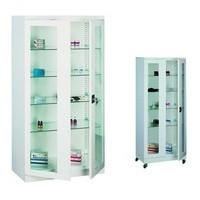 Meble metalowe: szafy, szafki lekarskie na leki, szafki na kartotekę medyczną